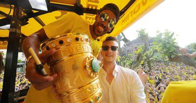 Aubameyang: Hier feiert er den DFB-Pokal
