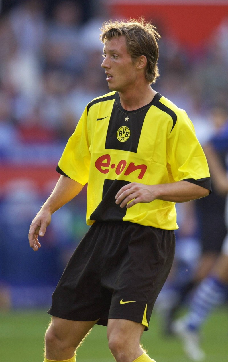 Auch van der Gun verletzte sich in Dortmund und konnte daher nie wirklich spielen