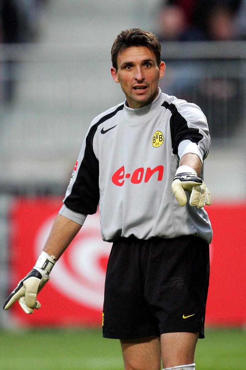 Torwart Guillaume Warmuz war ein echter Flop im Kader vom BVB