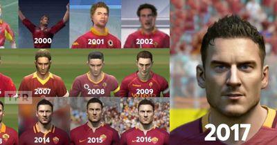 Francesco Totti: Das war seine Entwicklung bei FIFA