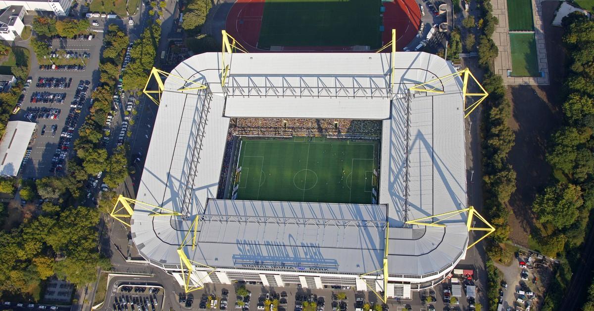 Erkennst du das Bundesliga Stadion aus der Luft?