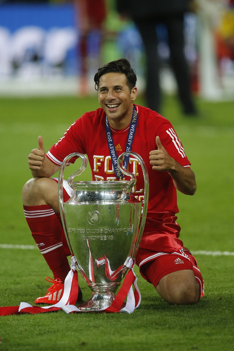 Claudio Pizarro, der sogar mehrere Rekorde in der Bundesliga führt