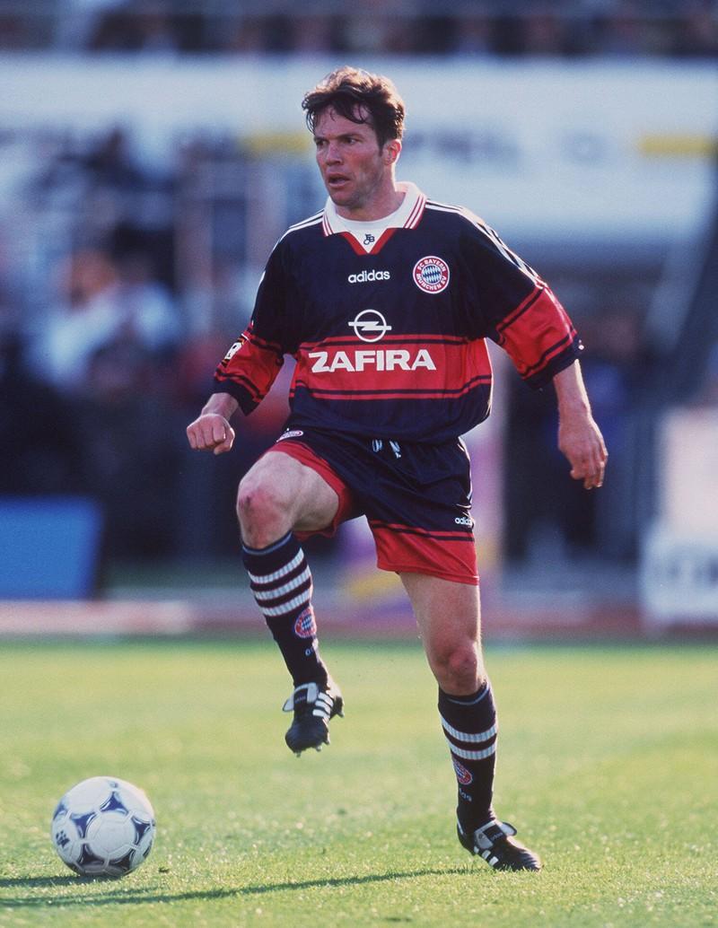 Ein Foto von Lothar Matthäus, der auch mal bei Bayern spielte