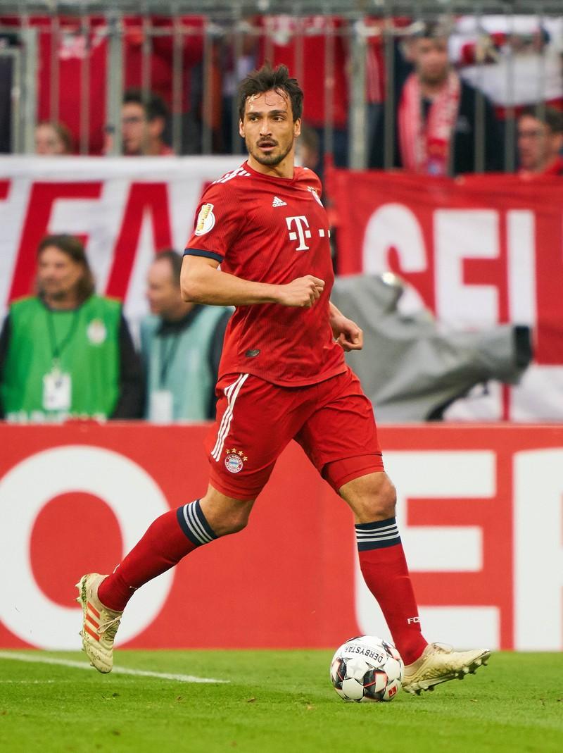 Mats Hummels, der von Borussia Dortmund zu Bayern und wieder zurück wechselte