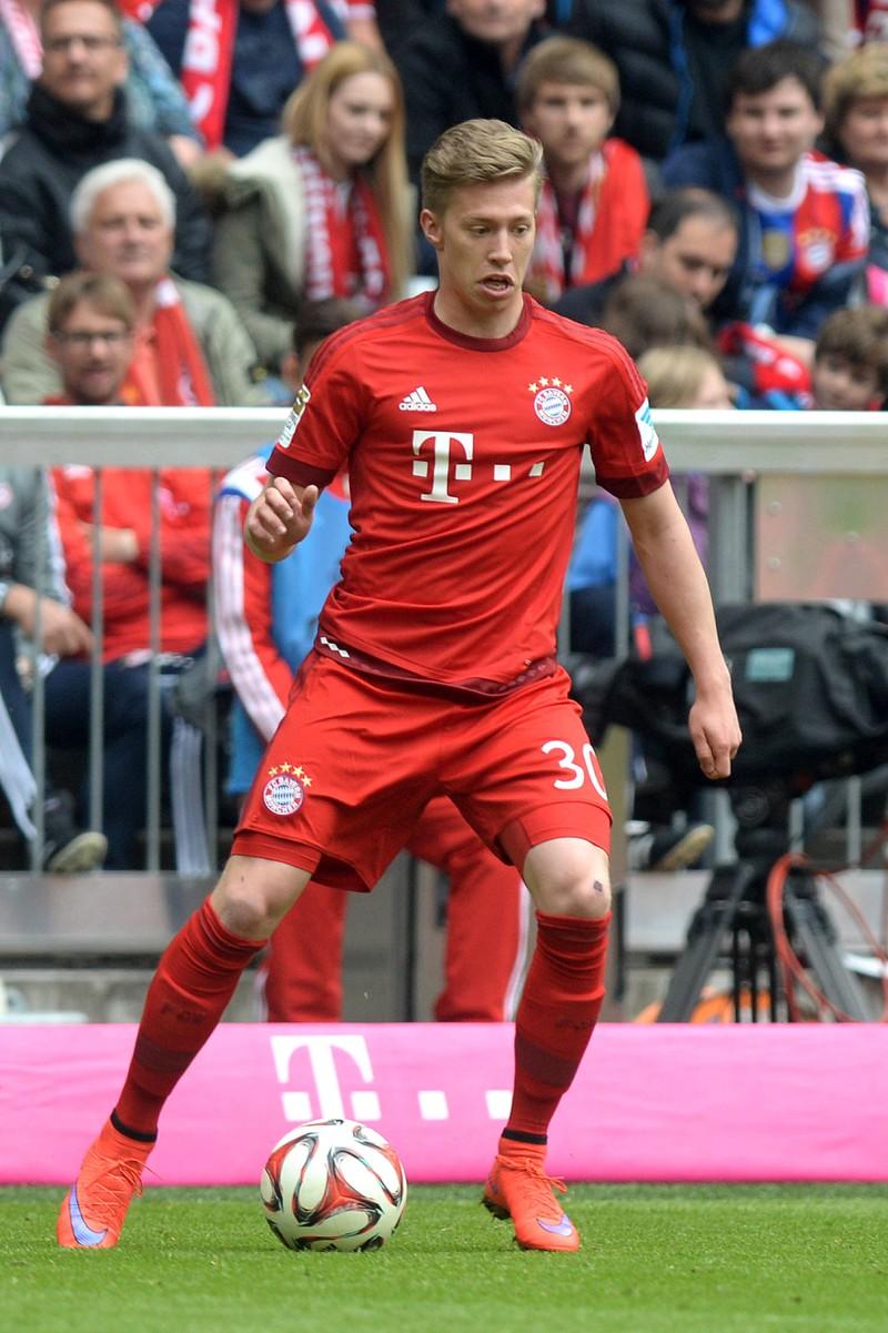 Mitchell Weiser, der zunächst bei den Bayern unter Vertrag stand