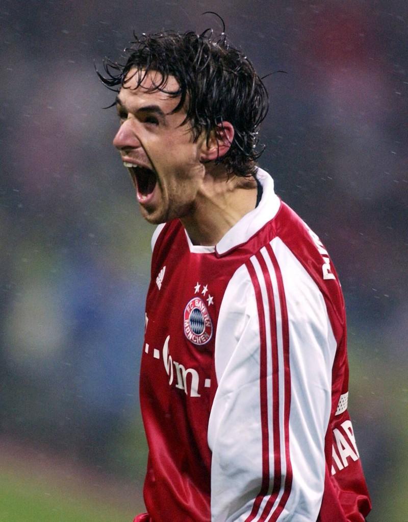 Owen Hargreaves im Bayern Trikot