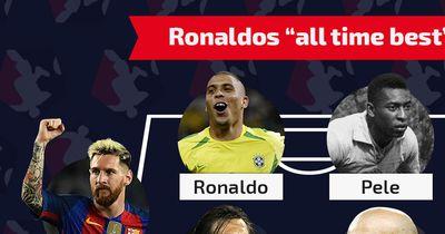 Das ist Ronaldos Traum-Elf