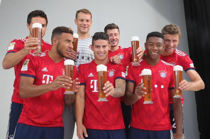 Die Bayern Stars bekommen ein gutes Gehalt
