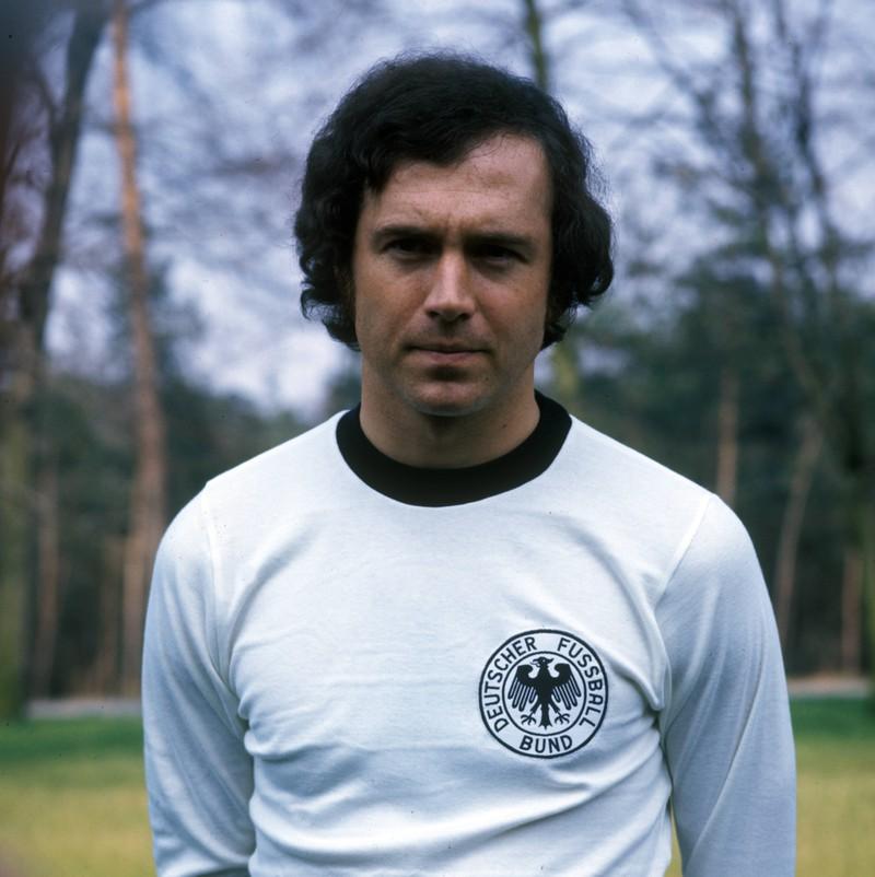 Franz Beckenbauer gilt als einer der besten deutschen Spieler