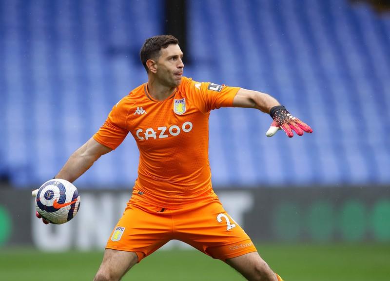 Emiliano Martinez ist inzwischen 35 Millionen Euro wert