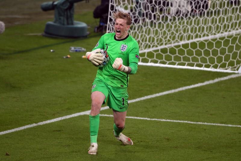 Jordan Pickford ist die Nummer 1 von England und Everton
