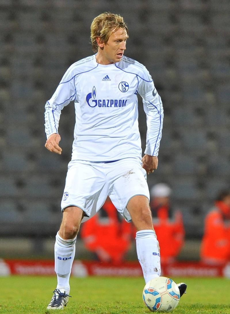 Frank Fahrenhorst zählt mit zu den nicht besonders guten deutschen Nationalspielern.