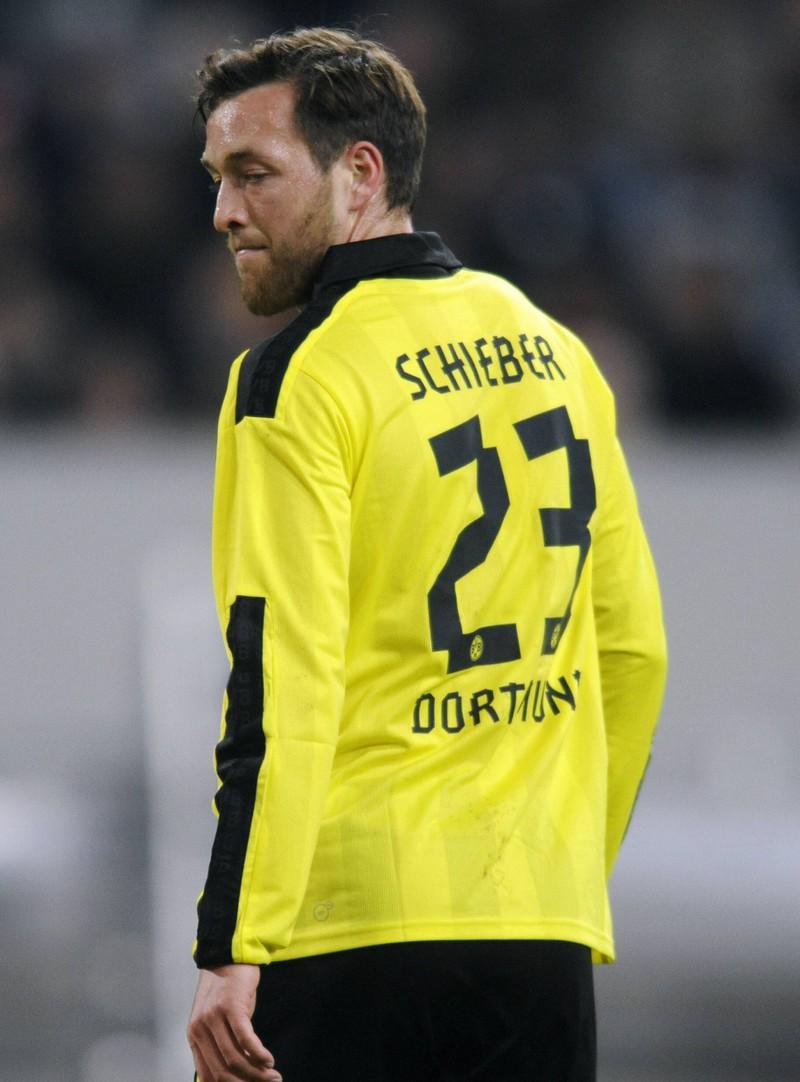 2012 wechselte Julian Schieber zum BVB. Doch er konnte mit der Konkurrenz nicht mithalten