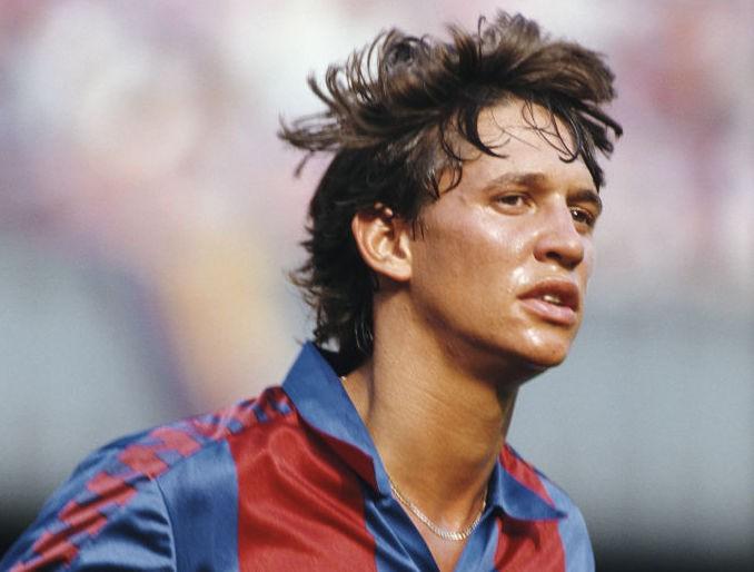 Gary Lineker im FC Barcelona Trikot