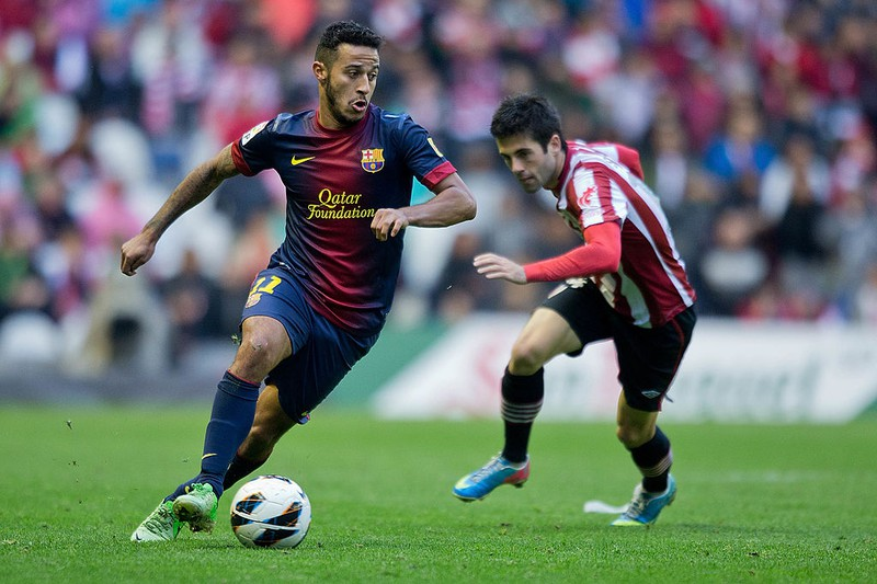Thiago Alcantara im Barcelona Dress