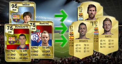 FIFA-Wandel: So haben sich die Stars des FC Barcelona verändert