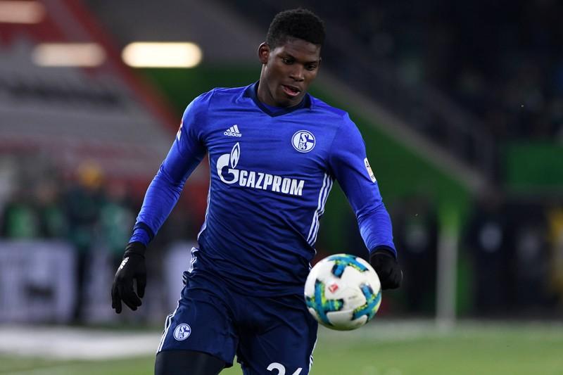 Breel Embolo, damals noch im Trikot des FC Schalke, spielt inzwischen für Borussia Mönchengladbach