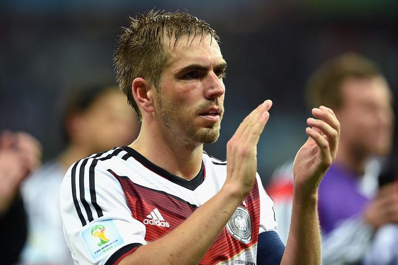 Dieses Bild zeigt den deutschen Fußballer Philipp Lahm.