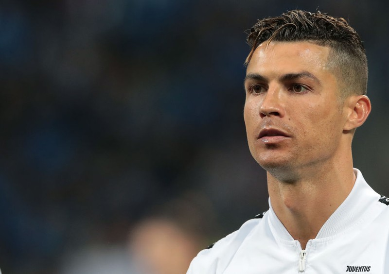 Dieses Bild zeigt den Fußballer Cristiano-Ronaldo.