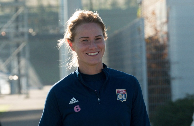 Amandine Henry, die bei Olympique Lyon unter Vertrag steht