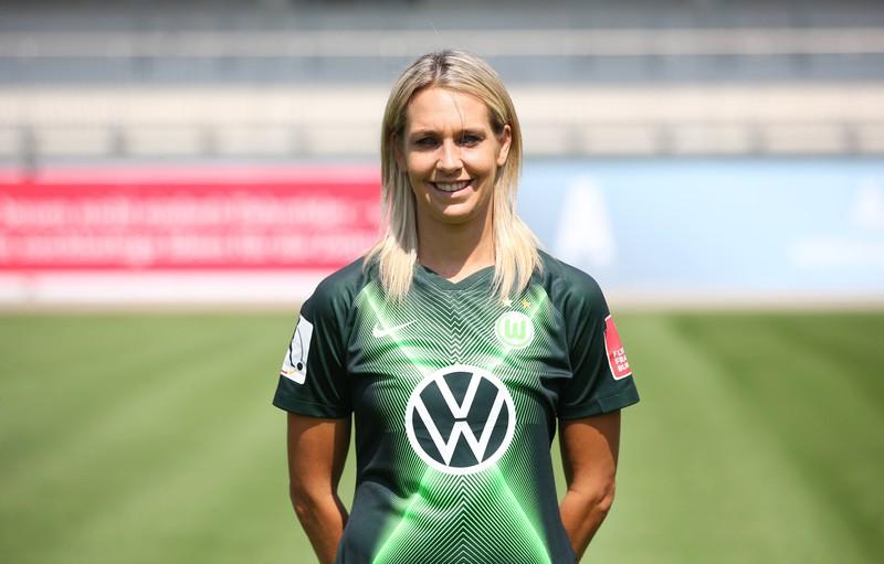 Lena Goessling spielte bei der Frauen-WM 2019 im Mittelfeld.