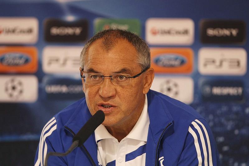Dieses Bild zeigt den Fußball-Trainer Felix Magath.