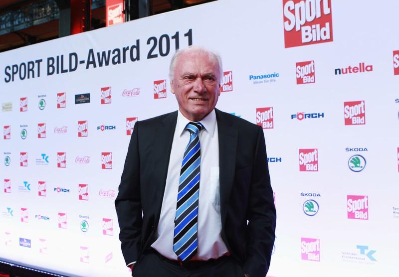 Dieses Bild zeigt den Fußball-Trainer Udo Lattek.