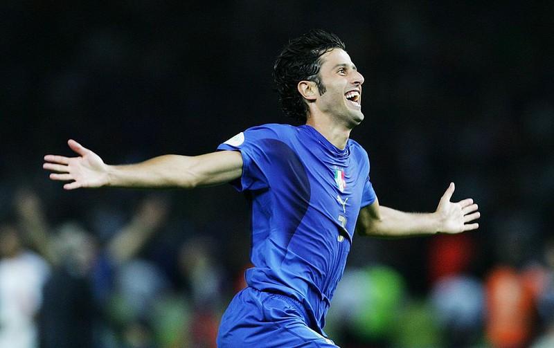 Grosso nach seinem entscheidenden Tor bei der WM 2006