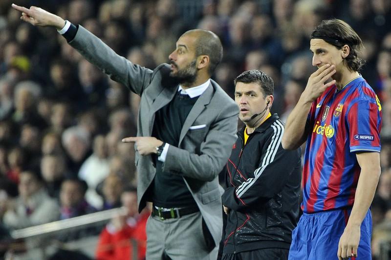 Die Beziehung zwischen Guardiola und Ibrahimovic war schwierig, das zeigt sich auch an seinen lustigen Sprüchen
