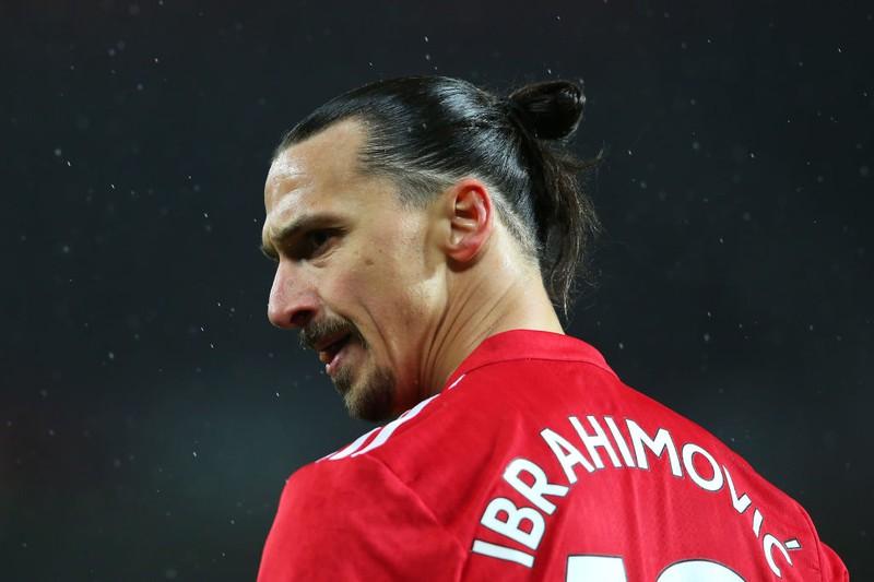 Ibrahimović auf dem Fußballplatz
