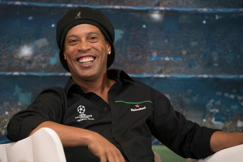 Der brasilianische Fußball-Star Ronaldinho