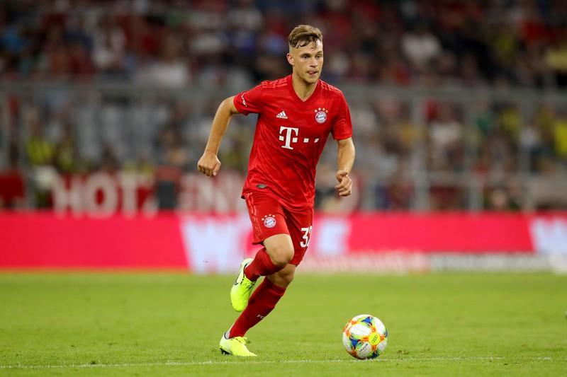 Bayern-Star Joshua Kimmich auf dem Feld
