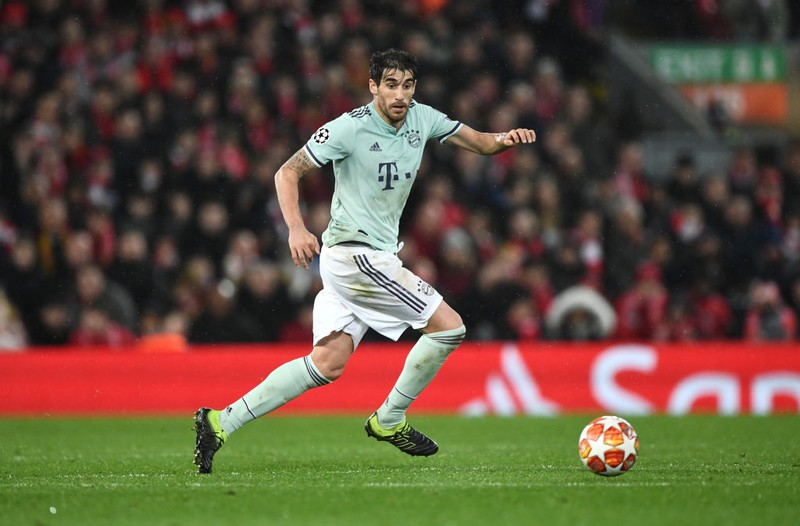 Javi Martínez beim Spiel im Bayern-Trikot