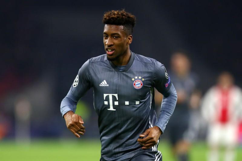 Kingsley Coman im Bayern-Trikot