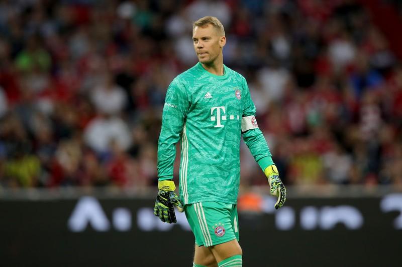 Manuel Neuer im Bayern-Trikot