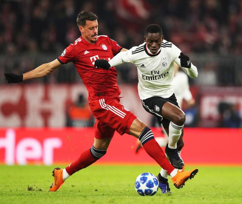 Sandro Wagner im Bayern Trikot