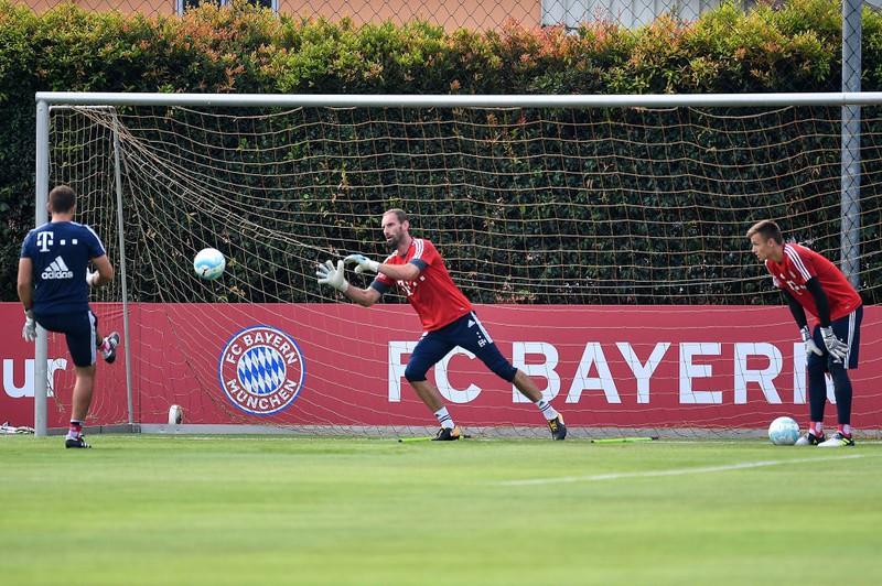 Tom Starke im Bayern-Tor