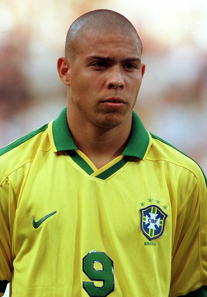 Brasiliens Ronaldo früher.