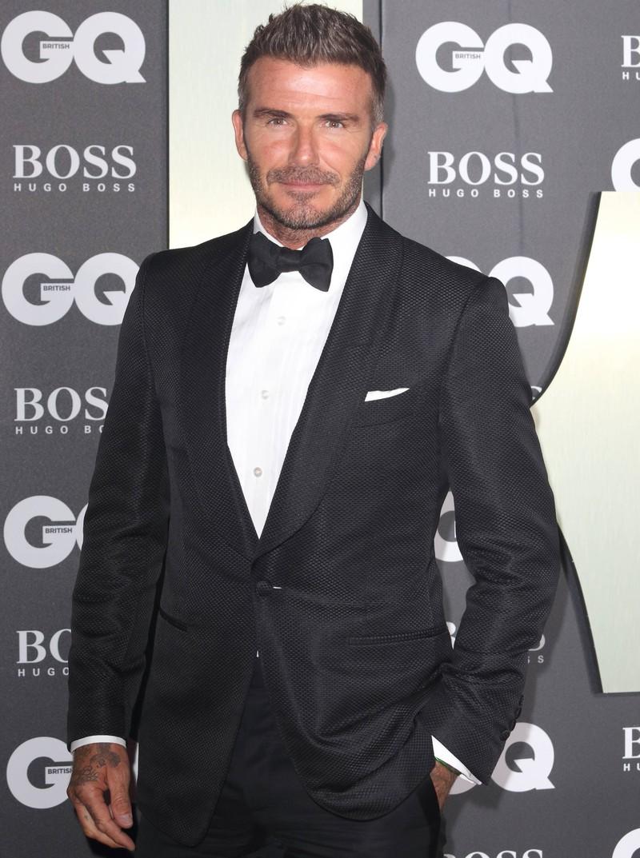David Beckham sieht heute anders aus, als damals.