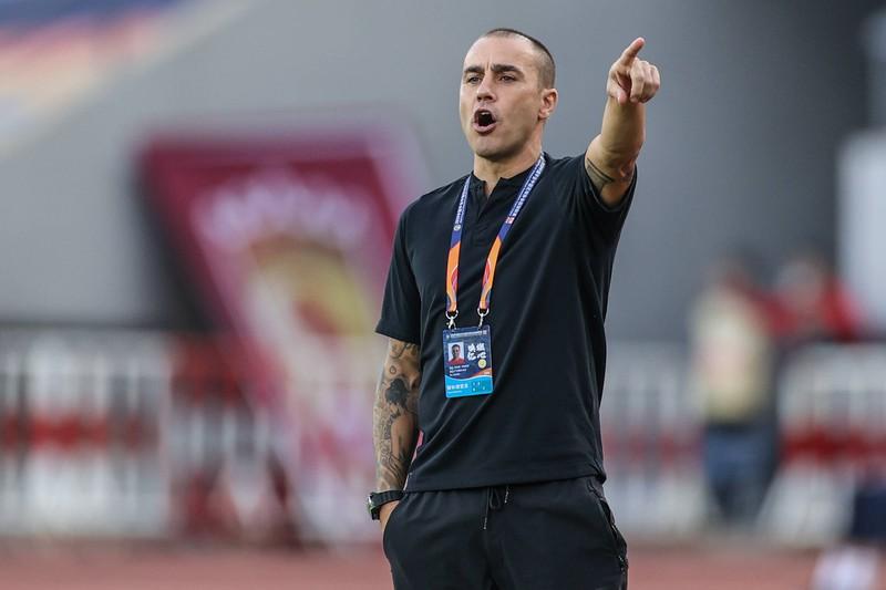 Fabio Cannavaro ist mittlerweile Trainer.