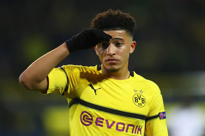 Dortmunds Jadon Sancho