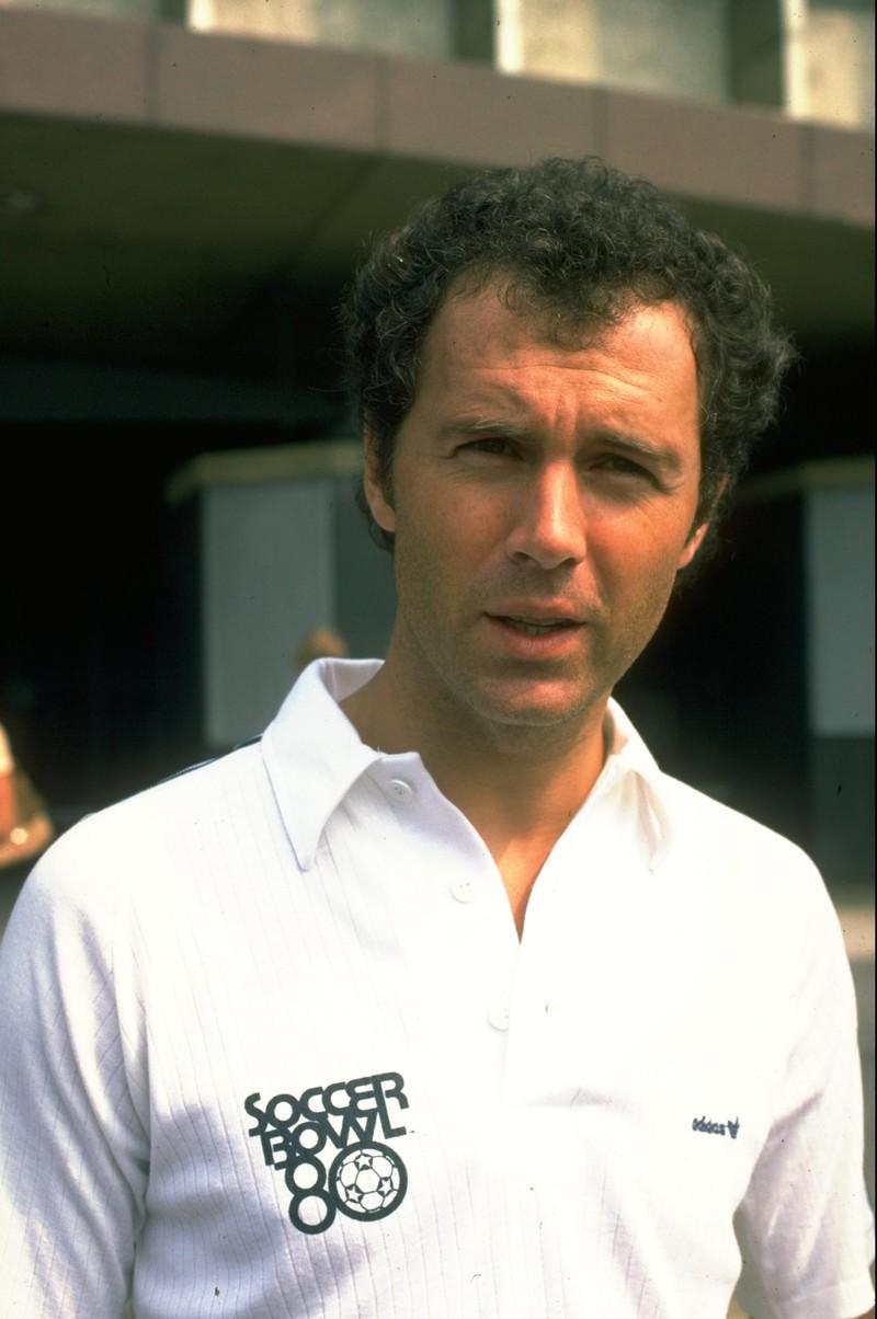 10 deutsche Fußballlegenden, die heute noch jeder kennt: Franz Beckenbauer in einem Interview