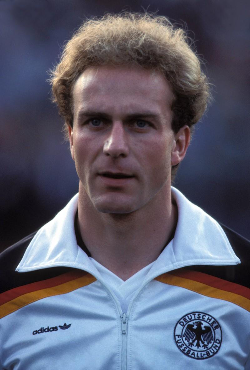 Auch Karl-Heinz Rummenigge ist eine deutsche Fußballlegende