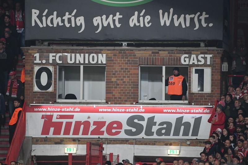 Man sieht das Stadion von Union Berlin, die das höchste Durchschnittsalter besitzen