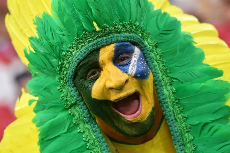 Man sieht einen  Brasilianer, der schon fünfmal Weltmeister wurde mit seinem Land, zuletzt 2002