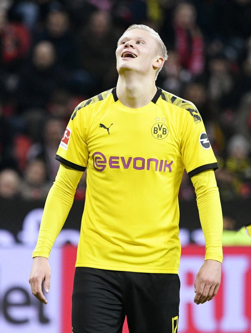Unangefochtene Nummer eins im Erzielen von Hattricks während eines Bundesliga-Debüts: Spieler Erling Haaland