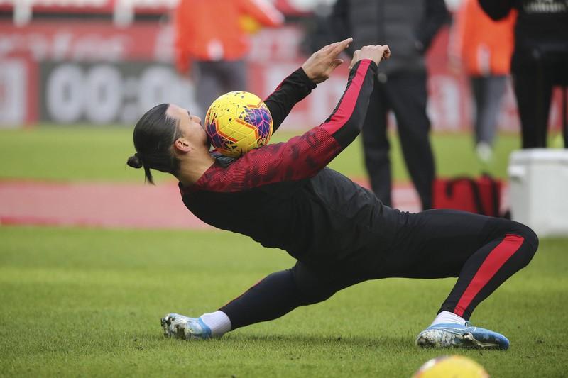 Auch Zlatan Ibrahimovic wurde noch nicht als Fußballgott geboren