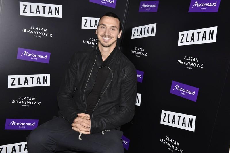Zlatan Ibrahimovic hat ein eigenes Parfüm und eine eigene Sportbekleidungs-Marke.
