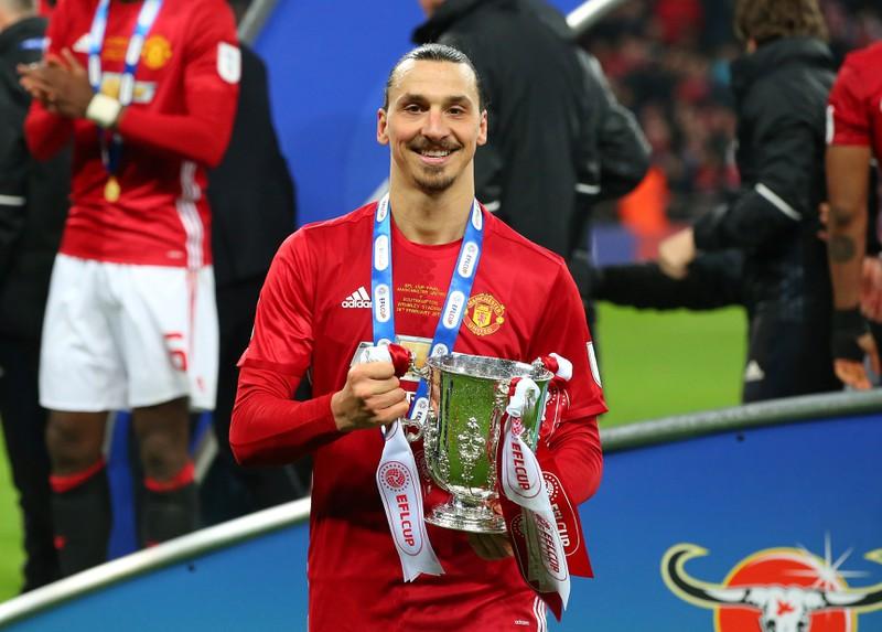 Zlatan Ibrahimovic hat schon einige Pokale gewinnen können