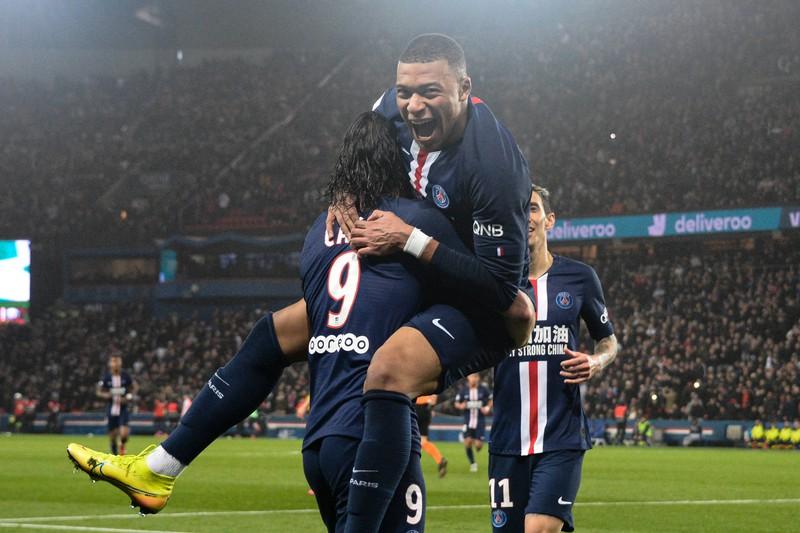 Man sieht den französischen Spitzenclub Paris Saint-Germain, der 636 Millionen Euro Umsatz verbuchen kann